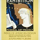 Vintage poster - Index of American Design by mosfunky