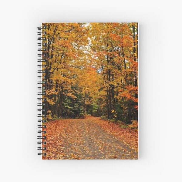 Oxtongue River Road Spiral Notebook