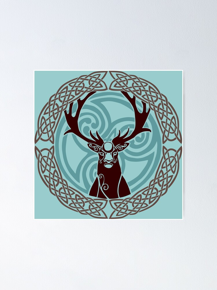 Alternate view of I am a Stag: of seven tines  Poster
