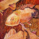 GOLDEN KOI by Pat Saunders-White