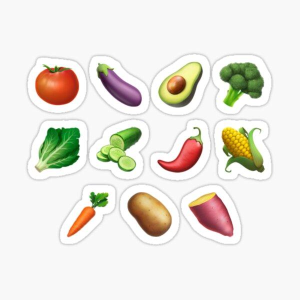 Vegetable Sticker Pack Sticker