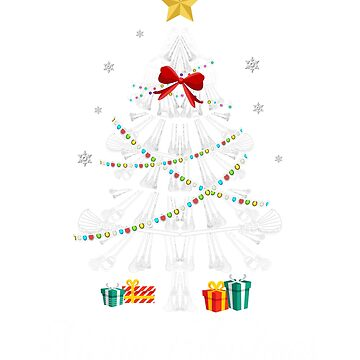 Christmas Light Broom Tree T Shirt Gifts For Women Men Kids by kelvil