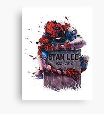 Rip Stan Lee in Heaven Canvas Print