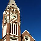 Town Hall Clock Tower, Perth, Western Australia. by Eve Parry