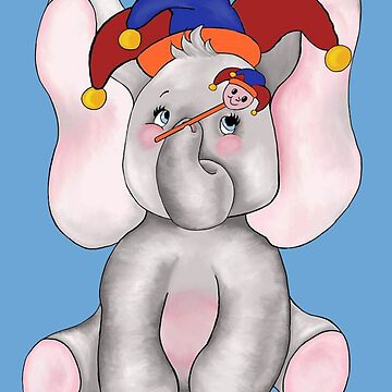 Jest an April Elephant by redqueenself