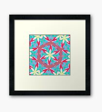 Malachite Winter Vacation Fall Into Winter Collection from Green Bee Mee Framed Print