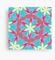 Malachite Winter Vacation Fall Into Winter Collection from Green Bee Mee Canvas Print