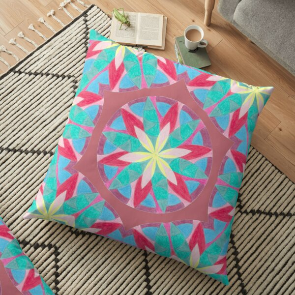 Malachite Winter Vacation Fall Into Winter Collection from Green Bee Mee Floor Pillow