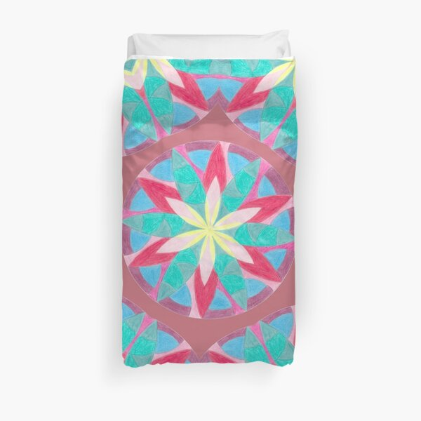 Malachite Winter Vacation Fall Into Winter Collection from Green Bee Mee Duvet Cover