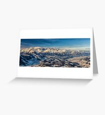 a historic Austria landscape Greeting Card