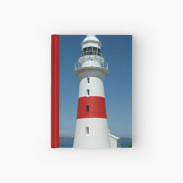 Low Head Lighthouse, Tasmania Hardcover Journal