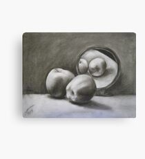 Reflection of Apples Canvas Print