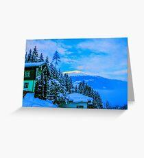 a colourful Austria landscape Greeting Card