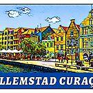Willemstad Curaçao Caribbean Sea Netherlands Curacao by MyHandmadeSigns