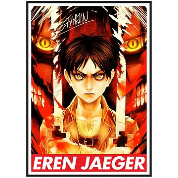 Attack on Titan - Eren Jaeger by grouppixel
