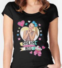jojo siwa träume groß Tailliertes Rundhals-Shirt