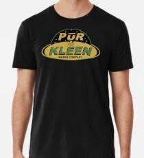 PŪR & KLEEN - water company Men's Premium T-Shirt