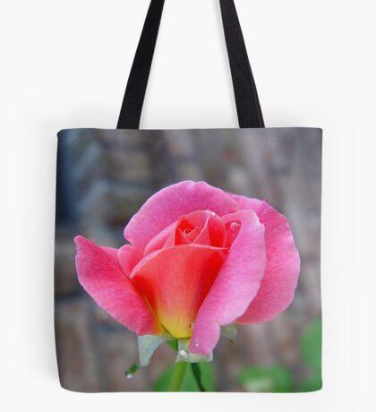 Rosebud and Diamonds Tote Bag