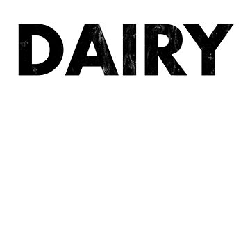 Dairy Is Scary Vegan Shirt by noirty
