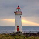 Griffith Island Lighthouse, Port Fairy, Victoria by Christine Smith
