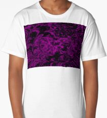 Purple Fire Long T-Shirt