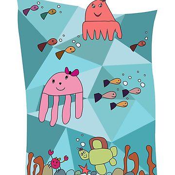kidostyle: Sea life for girls by kidostylebrand