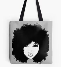 Natural Hair Curly Hair Autumn Black Kinky Afro Tote Bag