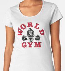 Gorilla World Gym Women's Premium T-Shirt