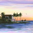 """ Keys House "" Florida Keys USA by Matthew Campbell"