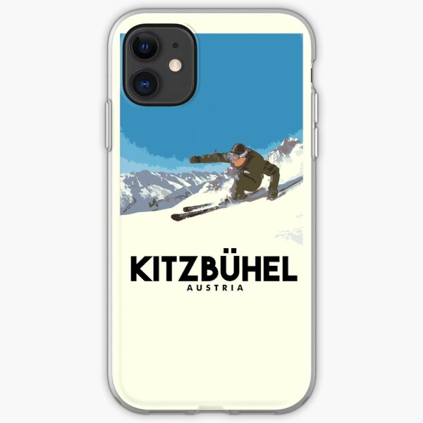 Ski Kitzbühel Austria iPhone Soft Case
