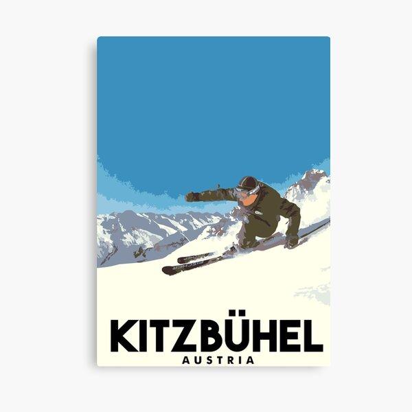 Ski Kitzbühel Austria Canvas Print