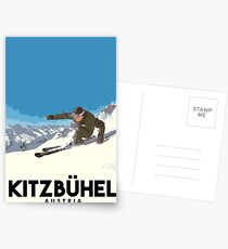 Ski Kitzbühel Austria Postcards