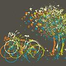 Sommer lässt Bäume von Van Nhan Ngo