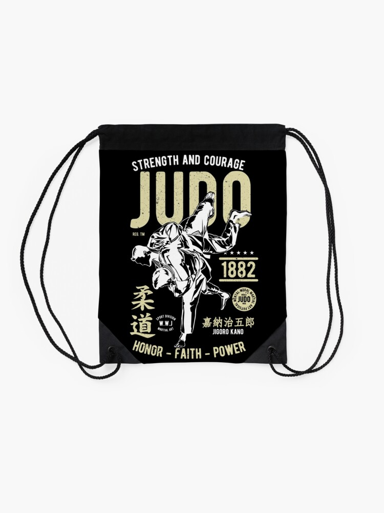 Alternate view of Judo Drawstring Bag