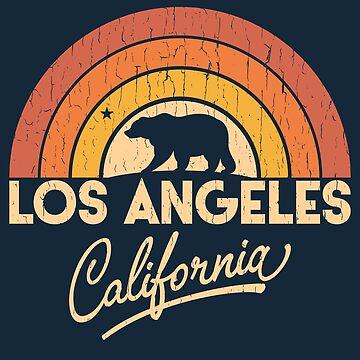 Retro Los Angeles California by dk80