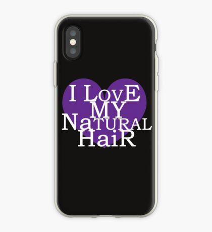 Ich liebe mein natürliches Haar iPhone-Hülle & Cover