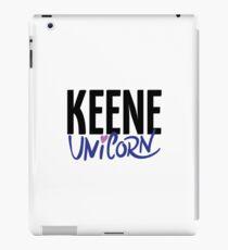 Keene Unicorn New Hampshire Raised Me iPad Case/Skin