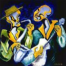 BLUES BROTHERS by IRENE NOWICKI