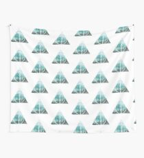 watercolour deathly hallows Wall Tapestry