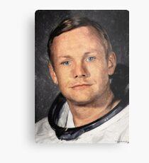 Lámina metálica Neil Armstrong
