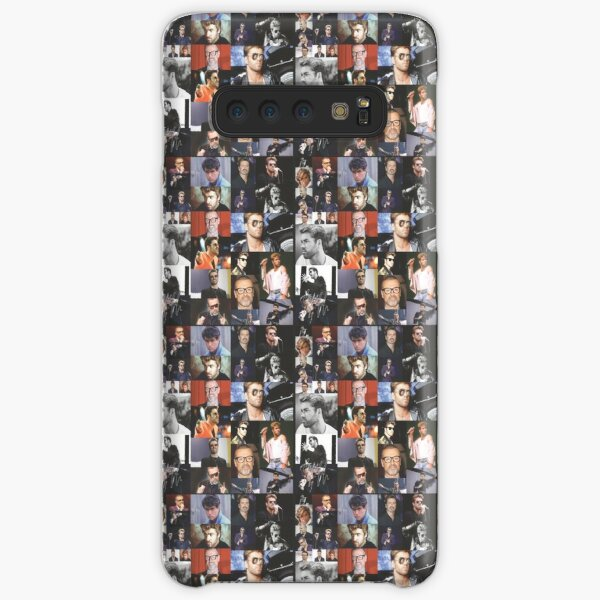 George Michael Colourful Montage Signed Pop Art Style Design Samsung Galaxy Snap Case