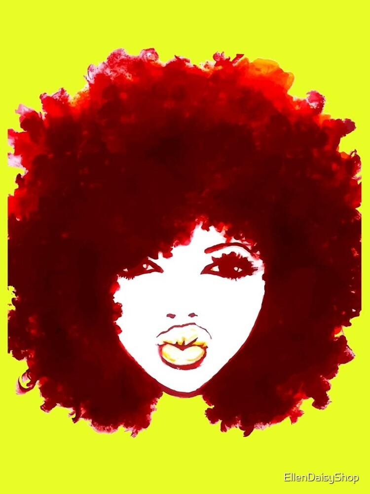 Autumn Afro Natural Hair Curly Hair Pretty Girl by EllenDaisyShop