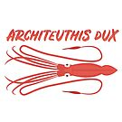 Architeuthis Dux Giant Squid Giant Squid Squid Deep Sea Inhabitant Fish Gift Kids Favorite Animal by ArtOfCopenhagen