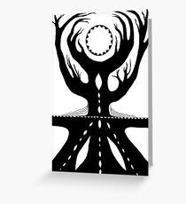 World Tree original painting Greeting Card