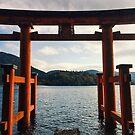 Hakone Torii Gate - Hakone, Japan by IkuTree