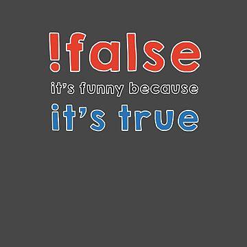 Not false by Caldofran