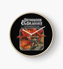 Dungeons & Dragons Clock