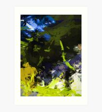 Green Tree Rhapsody 1 Art Print