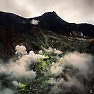 Owakudani Volcano - Hakone, Japan by IkuTree