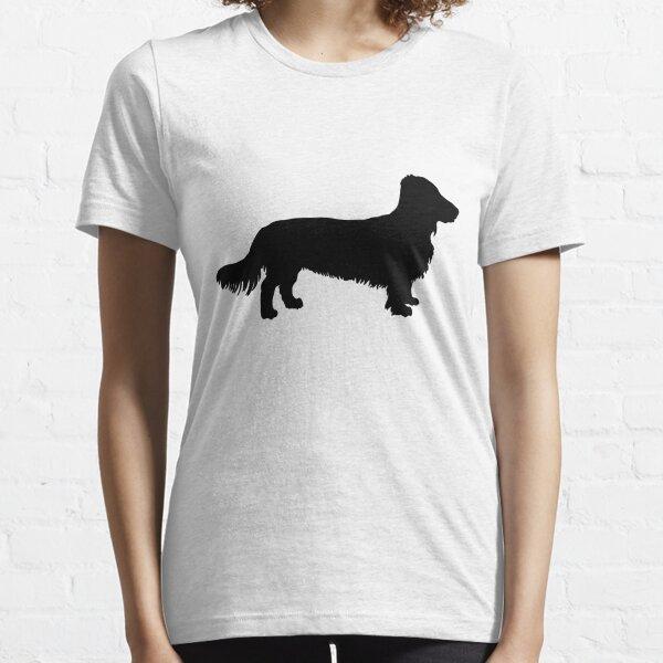 Dachshund long-haired Dachshund dog Essential T-Shirt